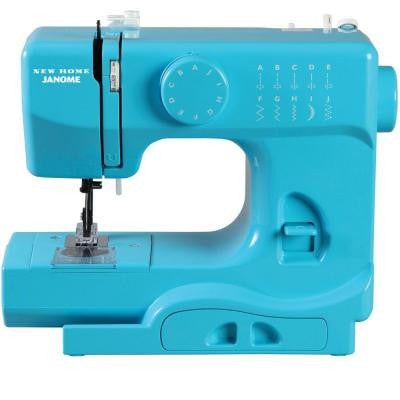 10-Stitch Turbo Sewing Machine in Teal