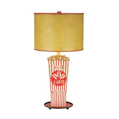 Piquant 30 in. Movie Snack Table Lamp