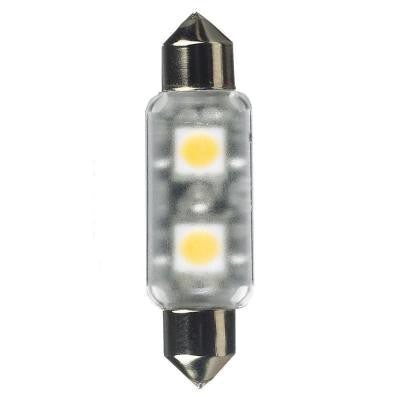 Ambiance 24-Volt LED Frosted T3 Festoon Lamp (2700K)