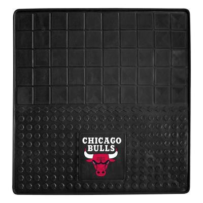 Chicago Bulls Heavy Duty Vinyl 31 in. x 31 in. Cargo Mat