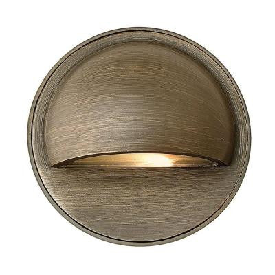 Hardy Island Low-Voltage 2.3-Watt Matte Bronze Path Light