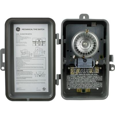 24-Hour Heavy Duty Mechanical Time Switch