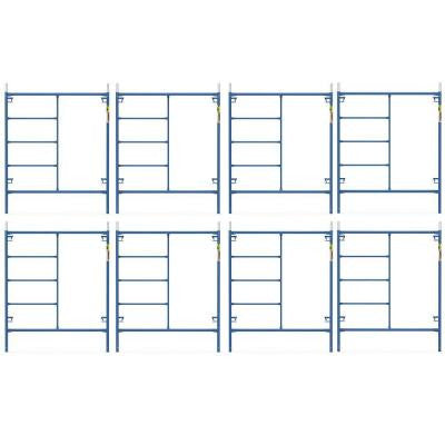 Saferstack 6 ft. x 5 ft. Mason Scaffold Frame (8-Pack)
