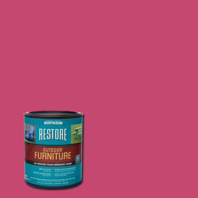 1-qt. Berry Pink Outdoor Furniture Coating