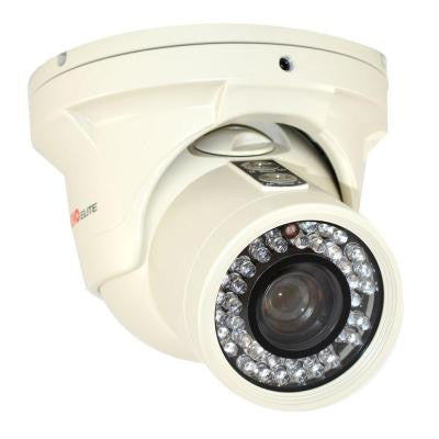 Elite 700 TVL Indoor/Outdoor Turret Surveillance Camera with 150 ft. Night Vision