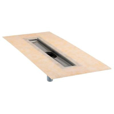 Kerdi-Line 28 in. Stainless Steel Bonding Flange