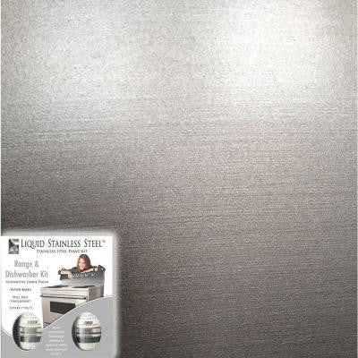 12 oz. Stainless Steel Appliance Paint Kit