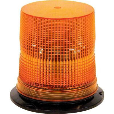 6 Amber LED Strobe Light