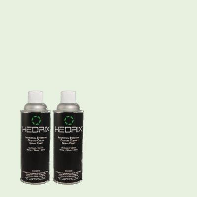 11 oz. Match of 460C-2 Spearmint Stick Gloss Custom Spray Paint (2-Pack)