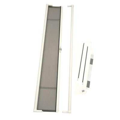 36 in. x 97 in. Brisa White Tall Retractable Screen Door