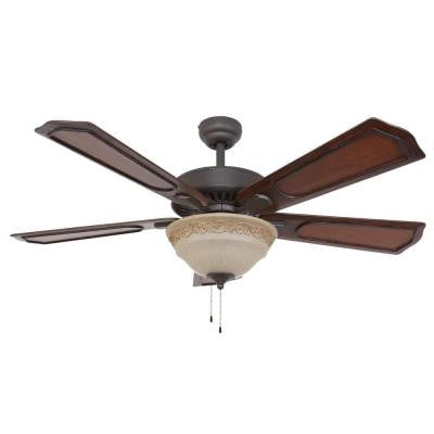Chesterton 52 in. Bronze Ceiling Fan