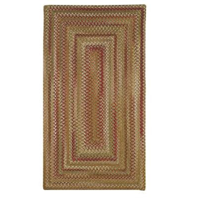 Applause Concentric Evergreen 5 ft. x 8 ft. Area Rug