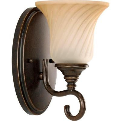Kensington Collection 1-Light Forged Bronze Wall Bracket