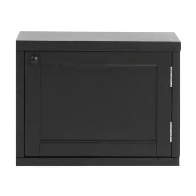 Mudroom 20 in. W x 15 in. H Worn Black Upper Cabinet