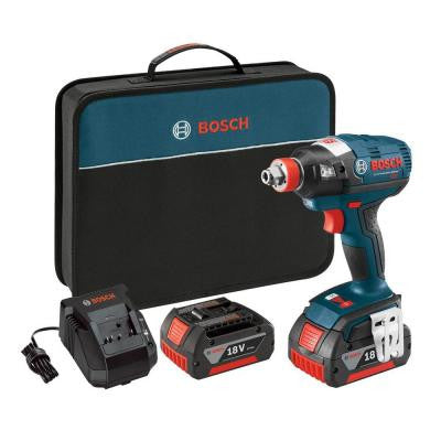 18-Volt 1/2 in. Brushless Socket Ready Impact Driver with (2) FatPack Battery (4.0Ah)