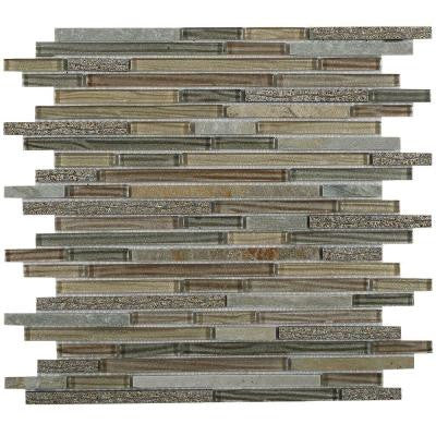 Paradise Genosha Glass Mosaic Tile - 3 in. x 6 in. Tile Sample