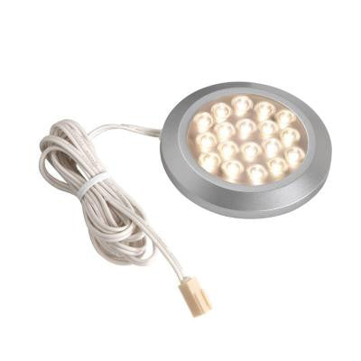 1-Light LED Nickel Dimmable Accent Light