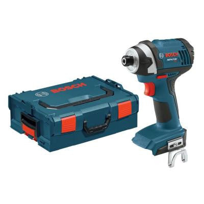 18-Volt Lithium-Ion 1/4 in. Cordless Impact Driver Bare Tool with L-Boxx
