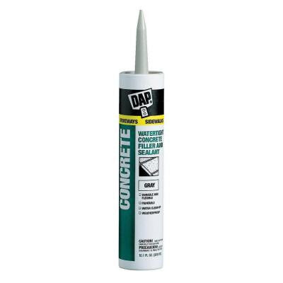 10.1 oz. Gray Concrete, Mortar Waterproof Filler and Sealant (12-Pack)