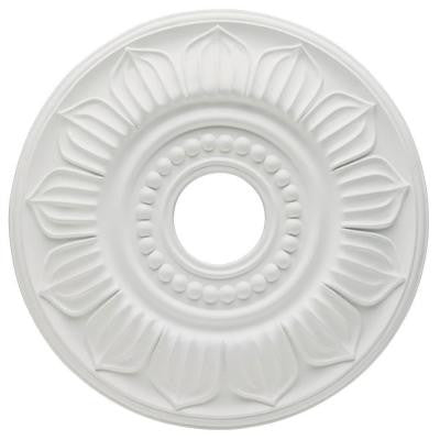 Francesca 18 in. White Finish Ceiling Medallion
