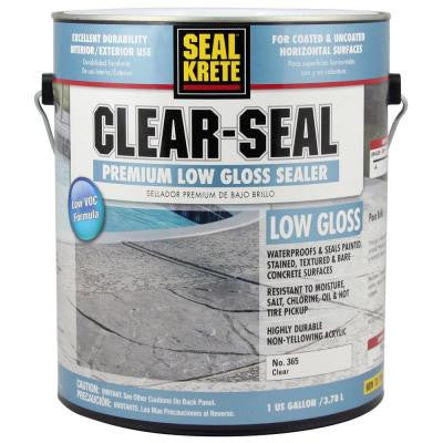 1 gal. Clear-Seal Low-Gloss Sealer