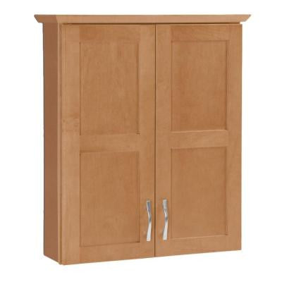 Casual 25-1/2 in. Bath Storage Cabinet in Harvest