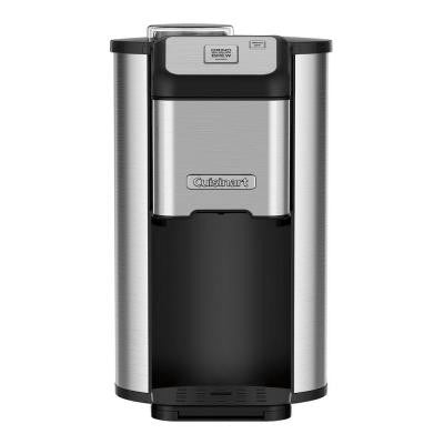 Grind and Brew Single Cup Coffeemaker in Stainless Steel