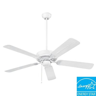 Wet Rated Series 52 in. White Outdoor Ceiling Fan