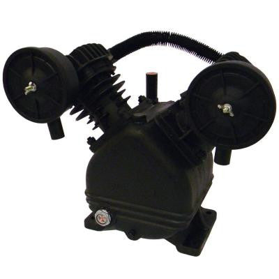V-Twin Cylinder Oil Lubricated Belt Drive Cast Iron Air Compressor Pump
