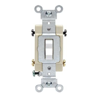 20 Amp 4-Way Preferred Toggle Switch - White