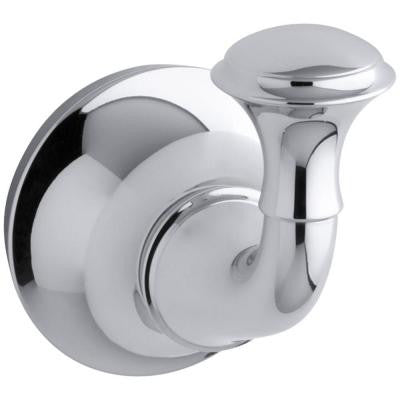 Forte Traditional Single Robe Hook in Polished Chrome