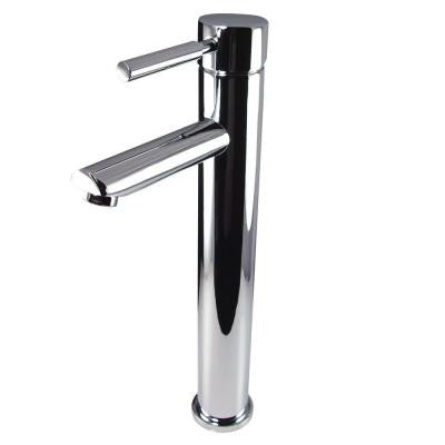 Tolerus Single Hole 1-Handle Low-Arc Bathroom Faucet in Chrome