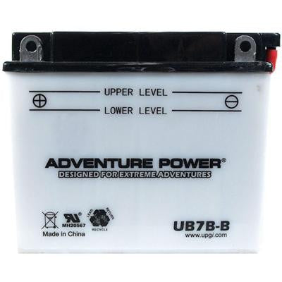 Conventional Wet Pack 12-Volt 8 Ah Capacity F Terminal Battery