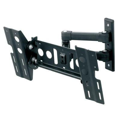 Multi Position Dual Arm TV Mount for 25 - 55 in. Flat Panel TVs