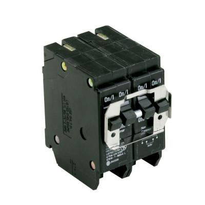 Type BR, BQC Quadplex Circuit Breaker, one 20A 2 pole and one 30A 2 pole