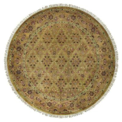 Persepolis Bronze 8 ft. Round Area Rug