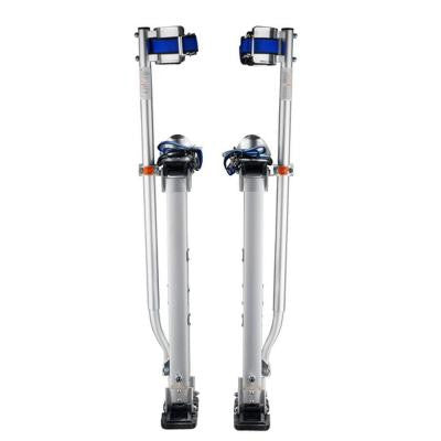 18 in. to 30 in. Adjustable Height Silver Drywall Stilts