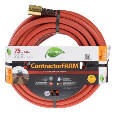 5/8 in. Dia x 75 ft. Element Contractor Farm Premium Duty Water Hose