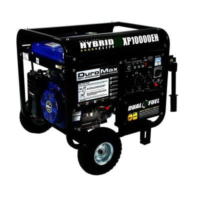 10,000-Watt Dual Fuel Electric Start Portable Generator