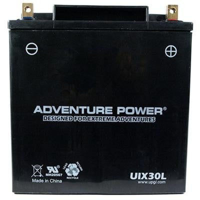 Sealed AGM 12-Volt 30 Ah Capacity D Terminal Battery