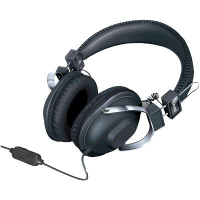 HM260 Dynamic Stereo Headphone with Microphone - Black