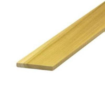 1/4 in. x 3 in. x 4 ft. Poplar Hobby Board