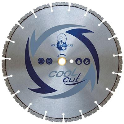 Cool Cut 14 in. x .110 in. x 1 in./20 mm Supreme Concrete Diamond Blade for Circular Saws