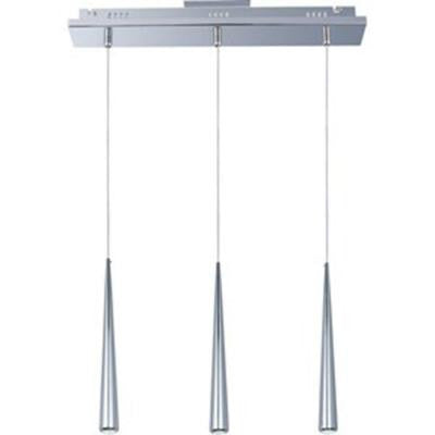 Coit 3-Light Polished Chrome LED Pendant