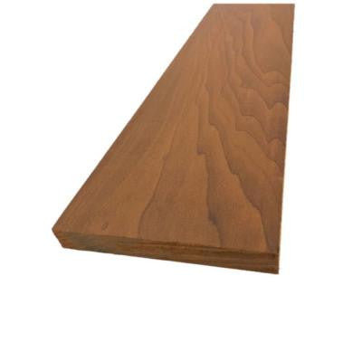 1 in. x 6 in. x 8 ft. Clear Thermo-Treated Poplar S4S Board (2-Pack)