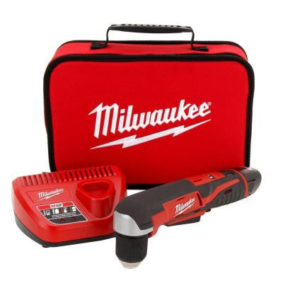 M12 12-Volt Lithium-Ion 3/8 in. Cordless Right-Angle Drill