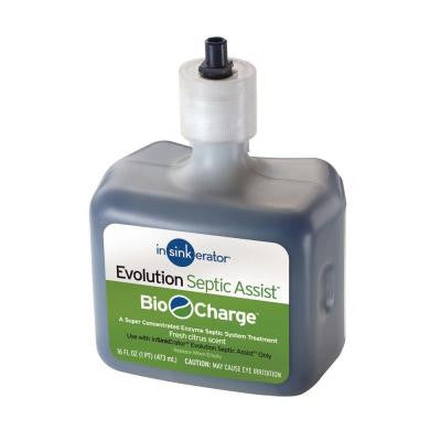 Bio-Charge Cartridge Replacement for Evolution Septic Assist Disposers