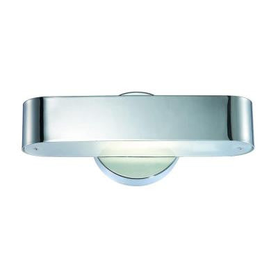 Dash Collection 1-Light Chrome Wall Sconce