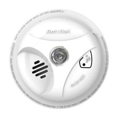 Battery Operated Smoke Alarm with Escape Light