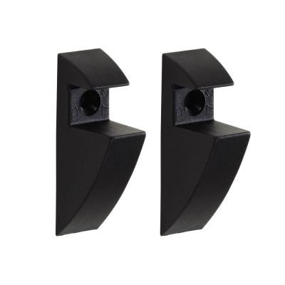 3/4 in. Shelf Support Clip in Black